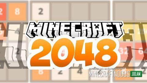 Карта 2048 для minecraft 1.7.2