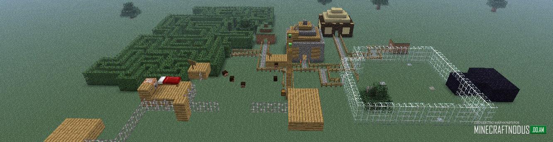 Карты Minecraft 1.7.10 - Читы для Minecraft