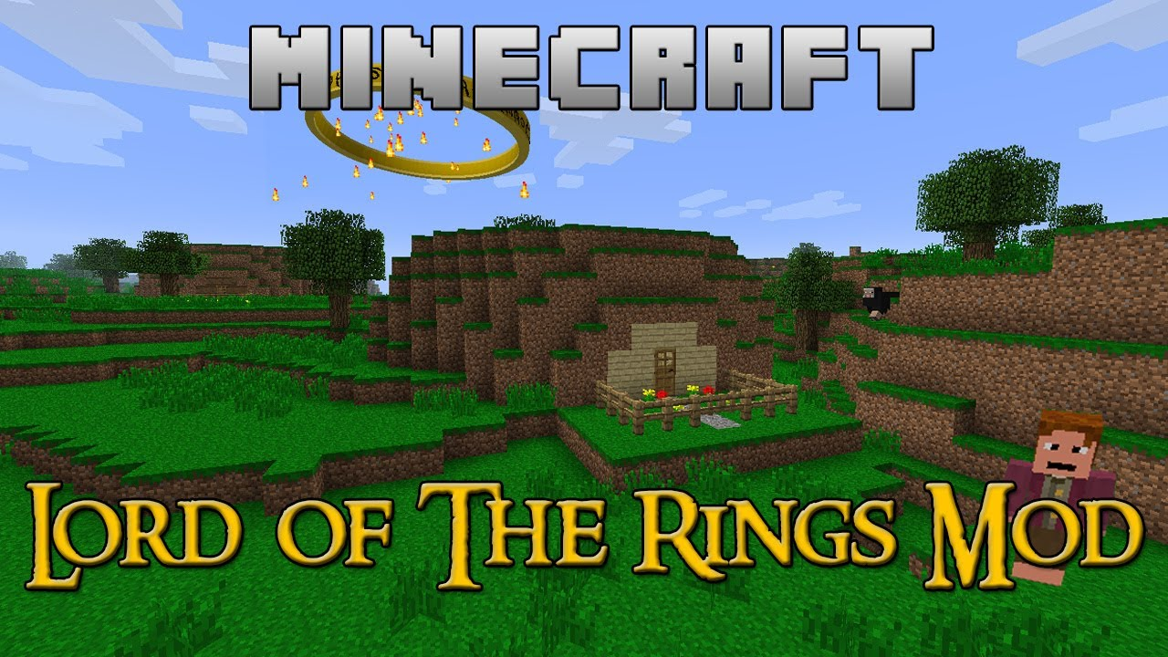 Мод The Lord of the Rings для Minecaft 1.7.10